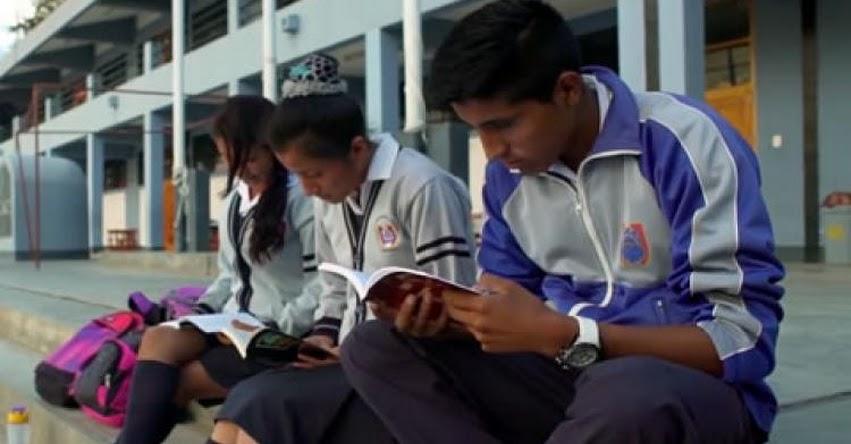 MINEDU fomentará competencia lectora de 700 mil estudiantes de escuelas secundarias - www.minedu.gob.pe