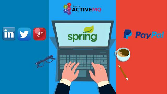 Spring Framework - Social SignIn, PayPal, JMS, Velocity