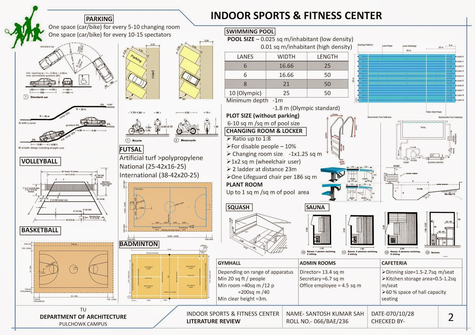 Architecture literature review case study of sports complex for Architectural design review