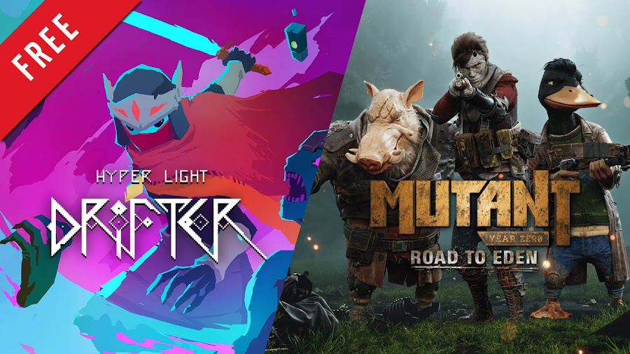 hyper light drifter mutant year zero road to eden free pc game epic games store heart machine bearded ladies funcom