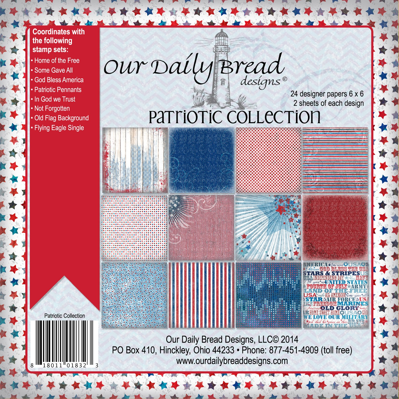 ODBD Patriotic Paper Collection