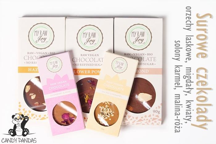 BIO surowa czekolada My Raw Joy – Siła Roślin