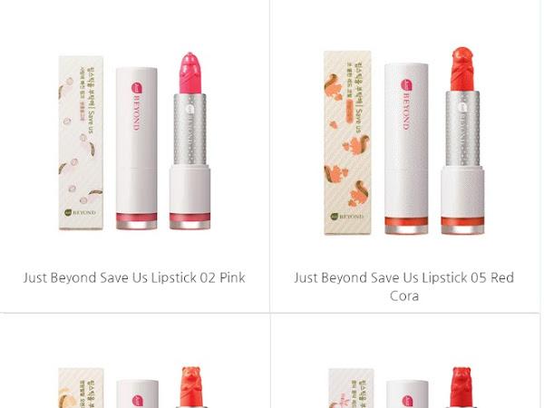 [Review] Beyond - Save Us Mini Lip Palette