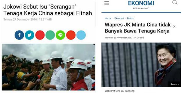 Pernyataan JK tentang Tenaga Kerja China, Membongkar Apa Yang Ditutupi Jokowi Selama ini