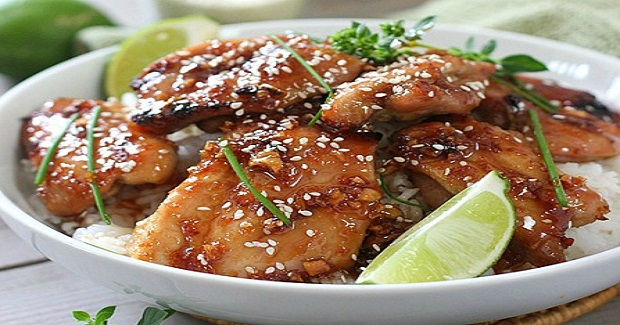 Oven Baked Sticky Honey And Lime Chicken Recipe