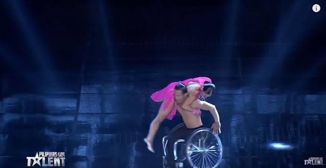 Julius And Rhea's Breathtaking Wheelchair Dance Wows The Judges Of PGT!