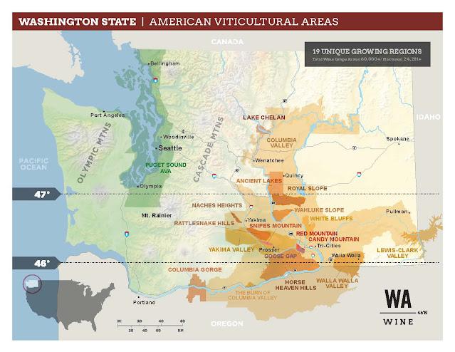 Washington wine AVAs