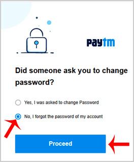 Paytm Password Reset/Change Kaise Kare