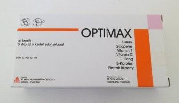 Harga Optimax Terbaru 2017 Suplemen Kesehatan Mata