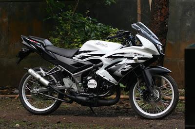 Modif Sederhana untuk Motor ninja 150 RR 2009  Inspirasi