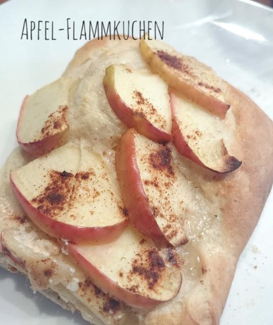 [Food] Süßer Apfel-Flammkuchen // Sweet Apple - Tarte flambee