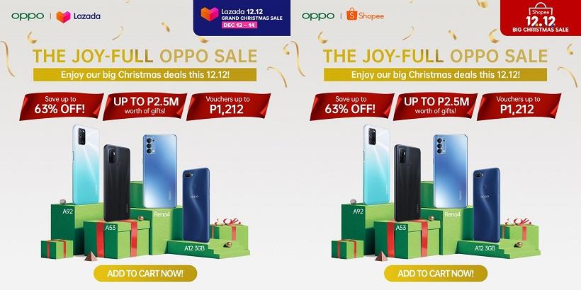 OPPO 12.12 Grand Christmas Sale