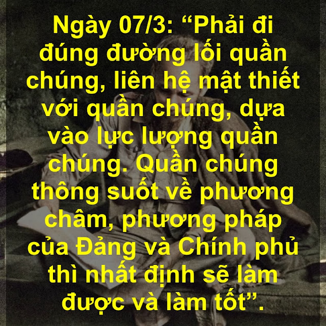 Ngày 07/3: Lời Bác Hồ dạy ngày này năm xưa!