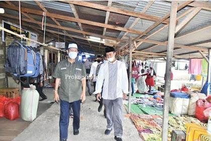 Safari Ramadan ke Sapat, Wabup Inhil Tinjau Pasar dan Pelabuhan