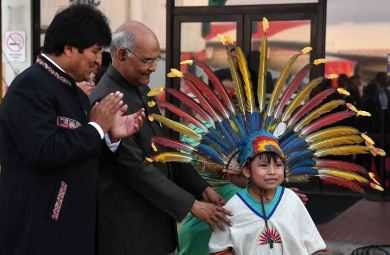 President Reached Bolivia