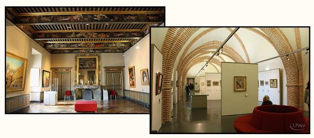 Interior del Museo Toulouse-Lautrec