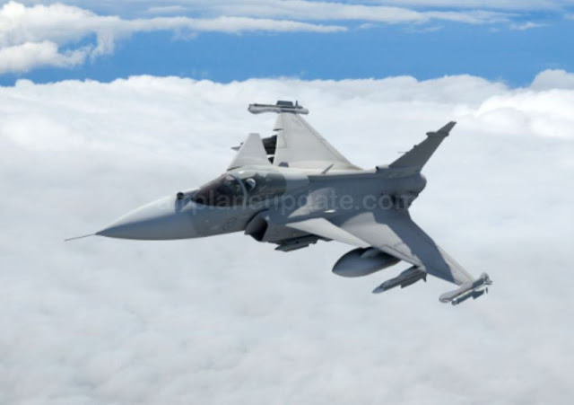 SAAB Gripen E Fighter Jet
