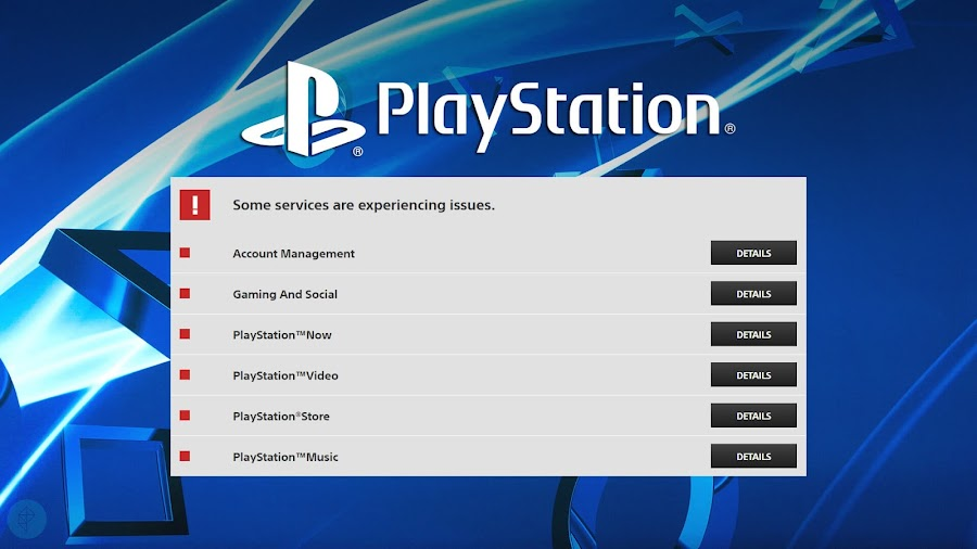 playstation network issues