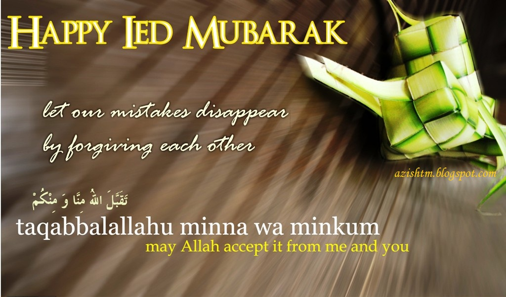 Ucapan Selamat Idul Fitri In English Ide Keren