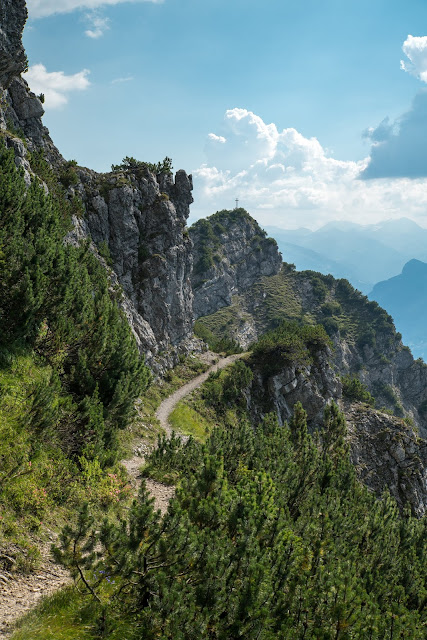 Fürstensteig  Gafadura Hütte - Drei-Schwestern - Gaflei  Wandern in Liechtenstein 15