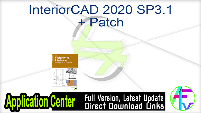 InteriorCAD 2020 SP3.1 + Patch