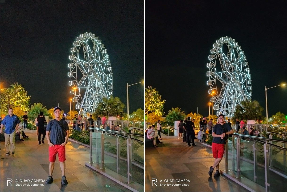 realme 5i review night photography