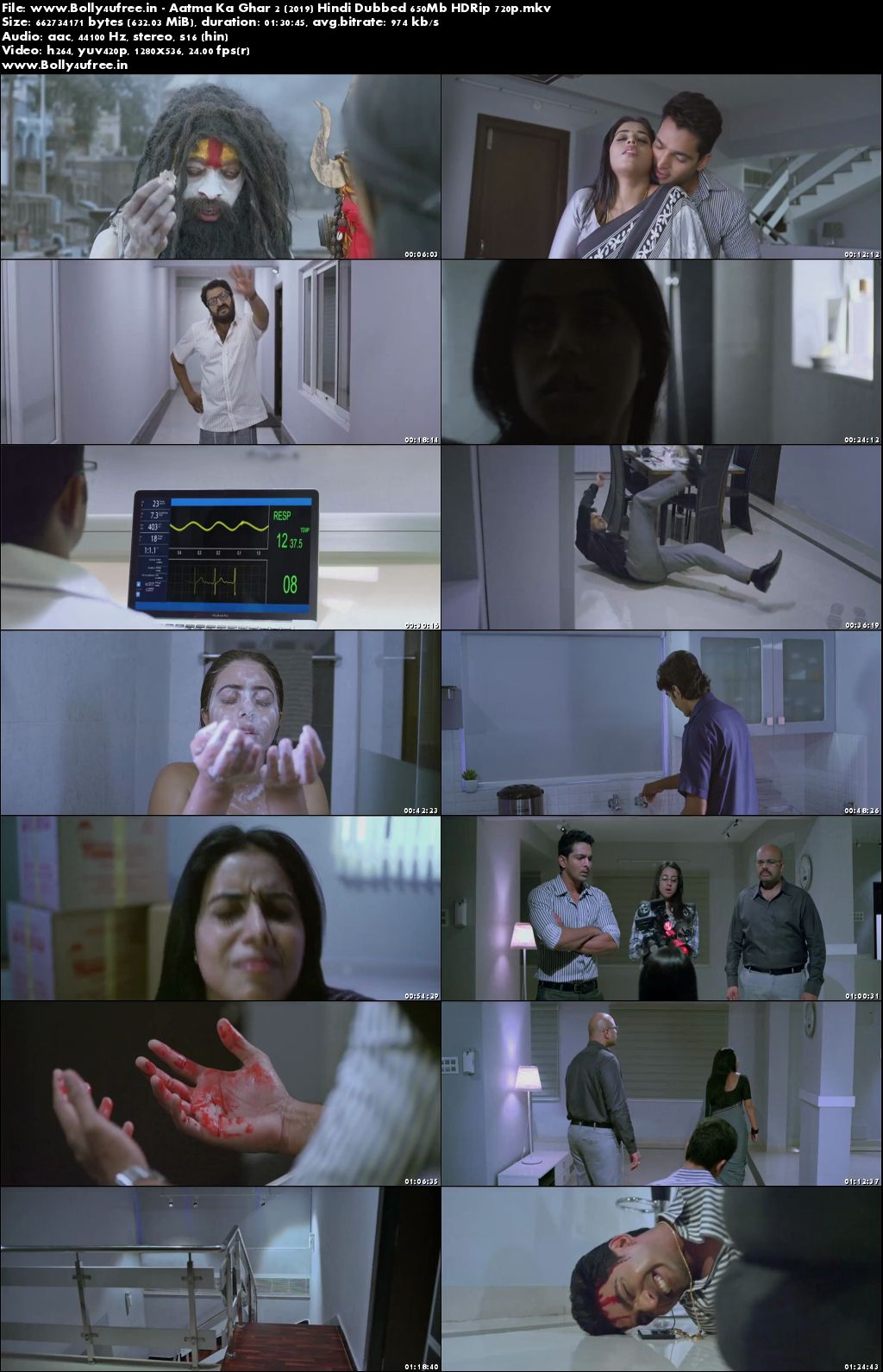 Aatma Ka Ghar 2 (2019) Hindi Dubbed 650Mb HDRip 720p