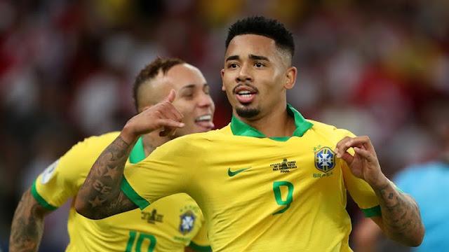 Brazil second goal-brazil vs peru