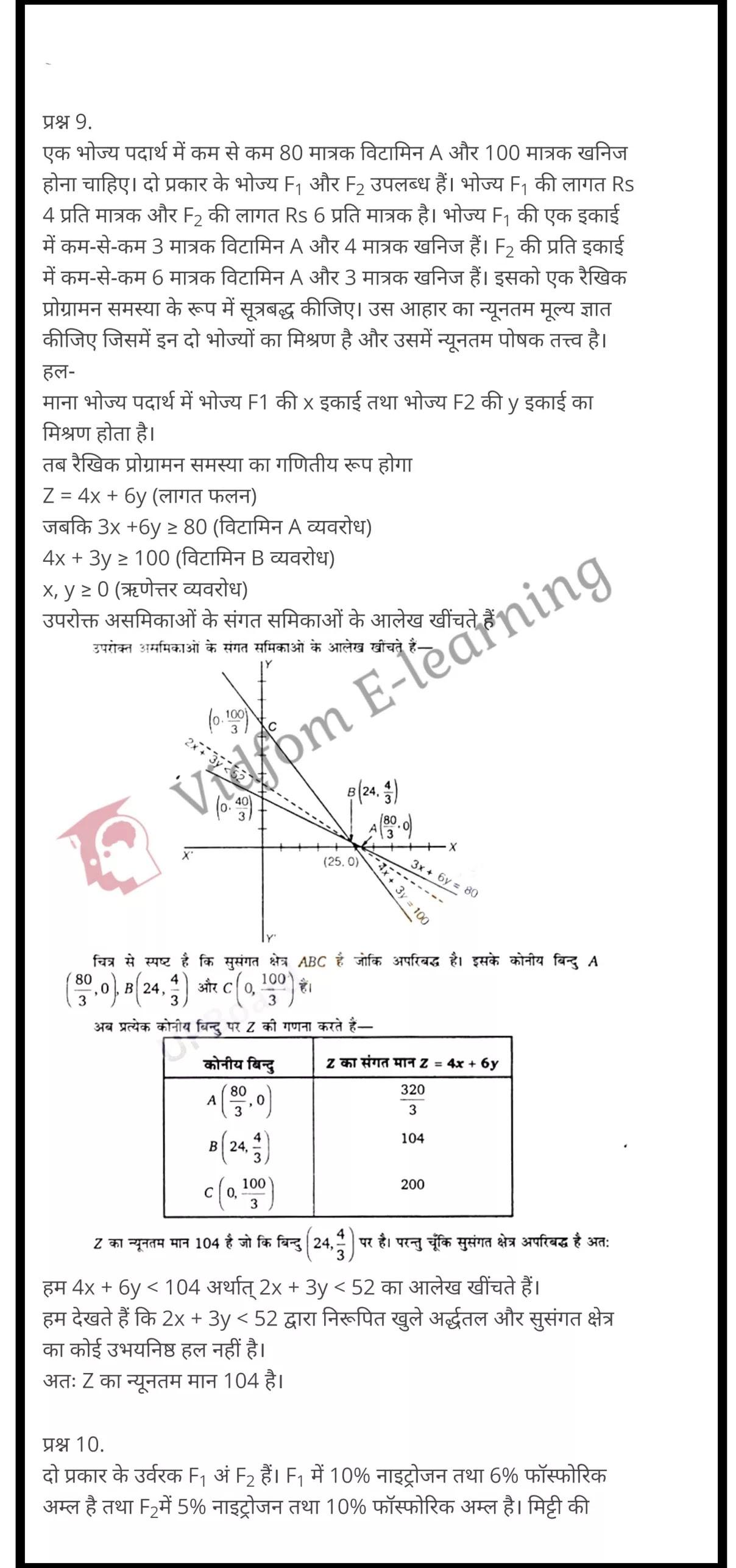 class 12 maths chapter 12 light hindi medium 17