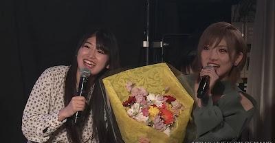Stu48 okada nana akb48 murayama yuiri 1000th theater show