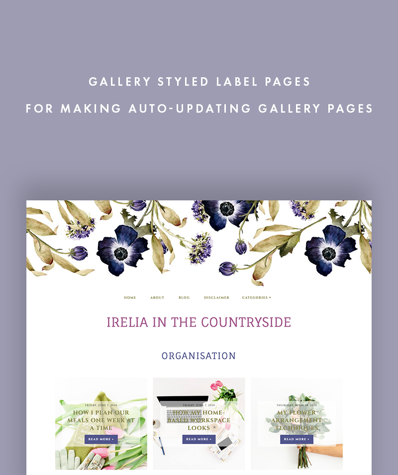 irelia in the countryside gallery styled label page