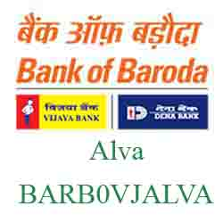 Vijaya Baroda Bank Alva Branch New IFSC, MICR