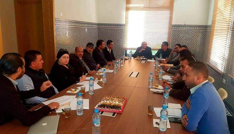 البرلماني غياث يترأس اللقاء الثاني للجنة التحضيرية لمنتدى الرياضيين