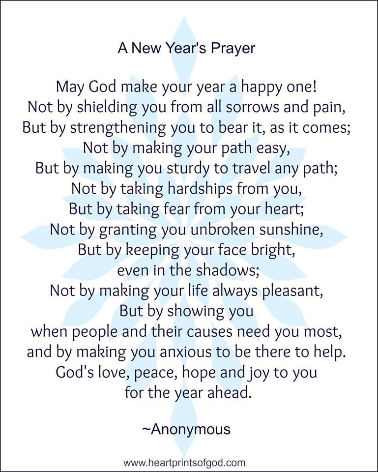 Heartprints of God: A New Year\'s Prayer
