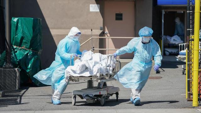 EEUU registra nuevo récord: 2494 muertes por COVID-19 en 24 horas