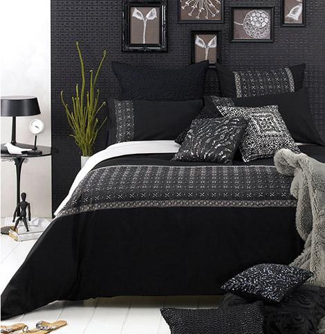 wonderful orange black bedroom ideas | Wonderful bedroom decor ideas in Black and White | Home Design