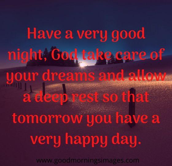 have a good night spanish