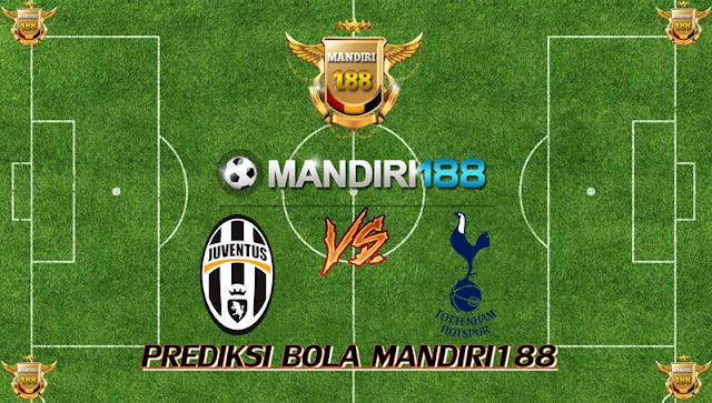 AGEN BOLA - Prediksi Juventus vs Tottenham Hotspur 14 Februari 2018
