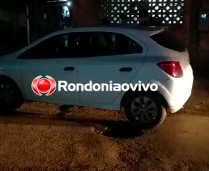Motorista de aplicativo é roubado e passageira jogada de carro em movimento