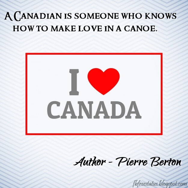 Famous Canadian Quotes