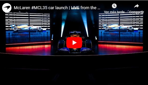 McLaren MCL35 F1 - 2020