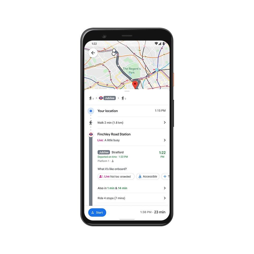 Google Maps si aggiorna per le vacanze di Natale