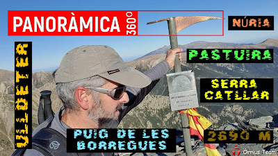 Panoràmica Borregues/Pastuira