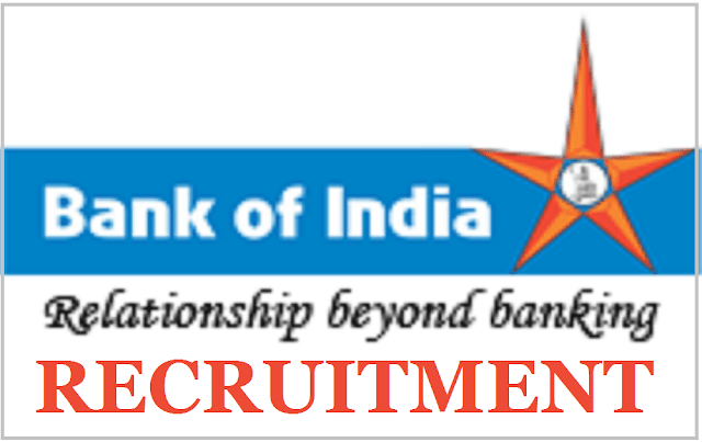 Bank of India recruitment, Faculty Office Assistant Posts,boi Recruitment