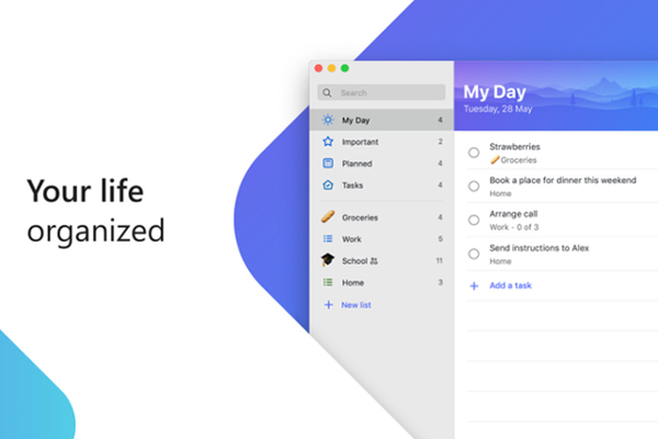 Microsoft's To-Do app is now available for Mac