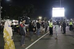 Operasi Yustisi di Alun Alun Batang , Petugas Gabungan Jaring 24 Pelanggar