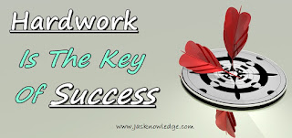 hardwork is the key of success