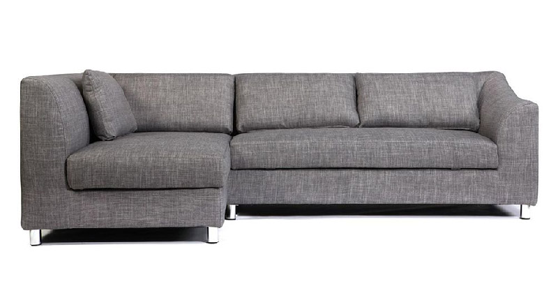 divano angolare modello MIAMI grigio
