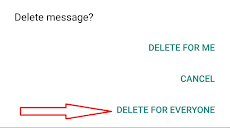 Cara Memunculkan Tombol Delete For Everyone Untuk Menghapus Pesan WhatsApp yang Sudah Lama Dikirim