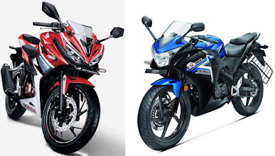 2016 Honda CBR150R Facelift vs 2015 honda 150r hd pose